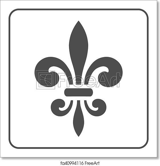 Free Art Print Of Fleur De Lis Symbol Fleur De Lis Symbol Fleur De