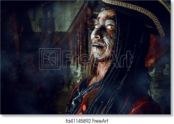 Free Art Print Of Brave Noble Pirate Portrait Of A Noble Brave Dead