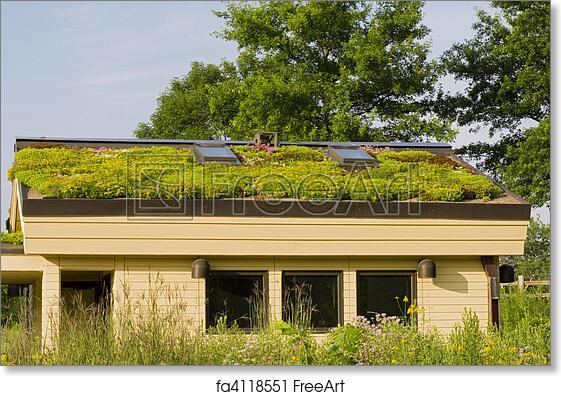 Free Art Print Of Lebanon Hills Green Roof And Gardens