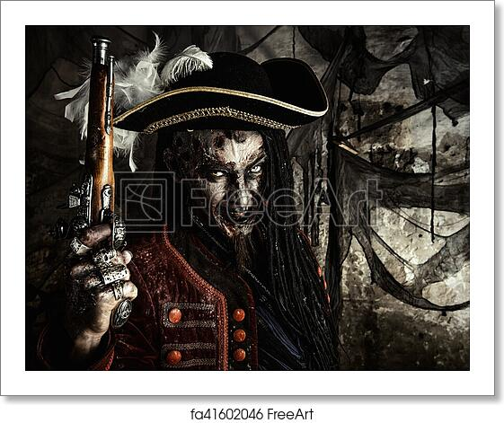 Free Art Print Of Brave Dead Pirate Portrait Of A Noble Brave Dead