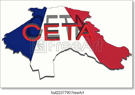 Free Art Print Of Ceta Comprehensive Economic And Trade Agreement