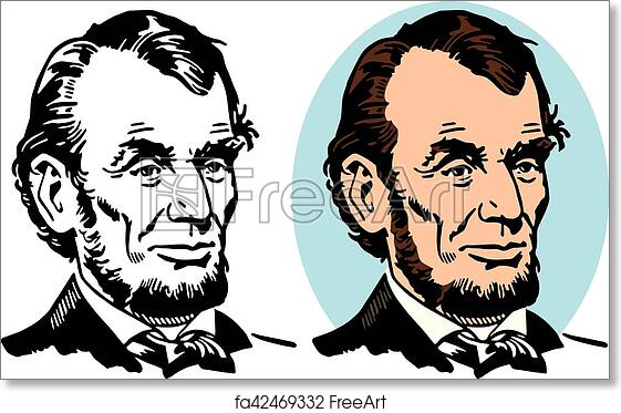 graphic relating to Printable Pictures of Abraham Lincoln identify Free of charge artwork print of Abraham Lincoln