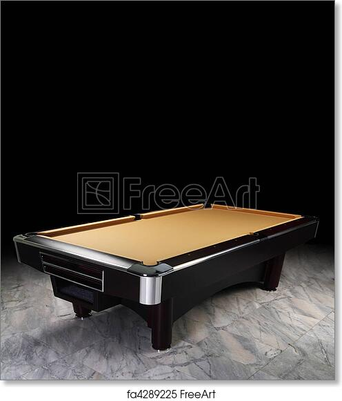 Free Art Print Of Billiard Table A Luxury Pool Table On The Spot - Luxury billiards table