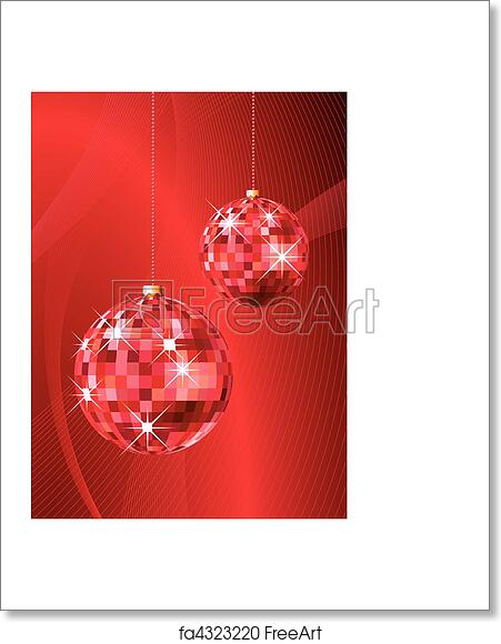 free art print of christmas party background christmas party