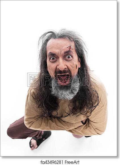 en soldes 6d371 0c168 Free art print of Crazy man with straitjacket