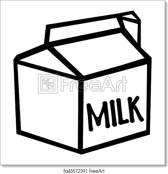 Free art print of Milk carton | FreeArt | fa43572391