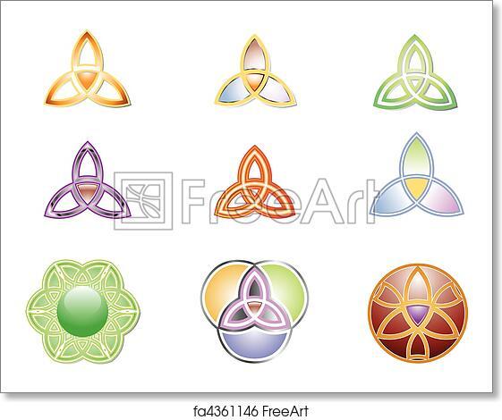 Free art print of Trinity Vector Graphic