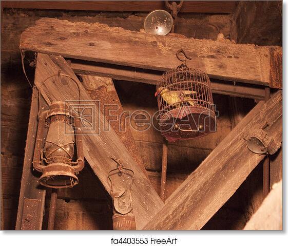 Free art print of Old mine shaft