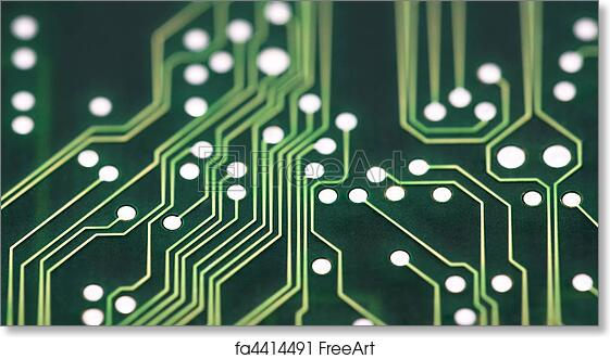 Free art print of Circuit Board Connections | FreeArt | fa4414491