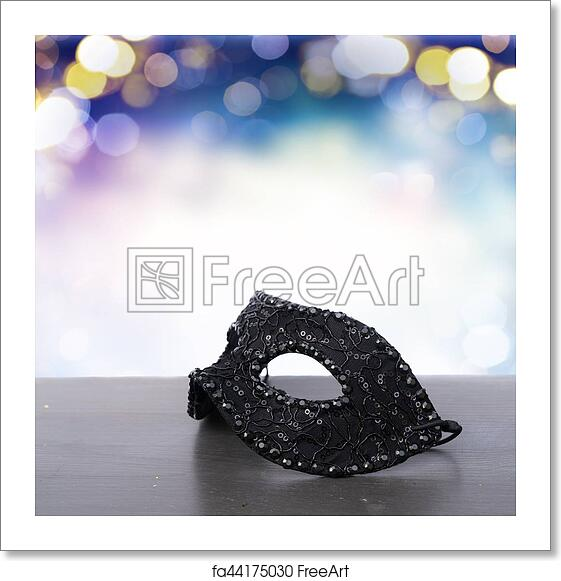 Free Art Print Of Mask With Masquerade Decorations