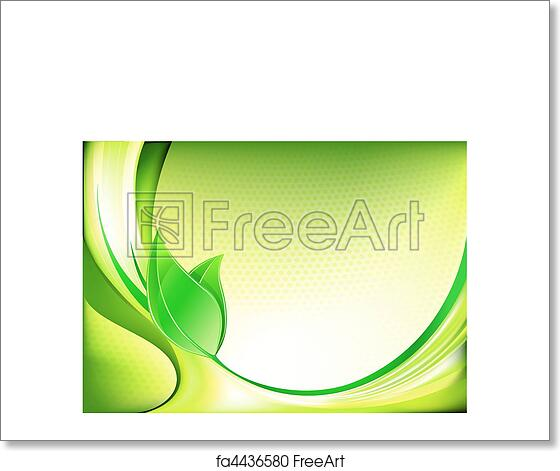 Free Art Print Of Spring Abstract Background
