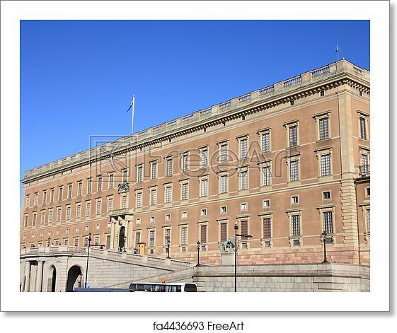 free art print of stockholm royal palace stockholm. Black Bedroom Furniture Sets. Home Design Ideas