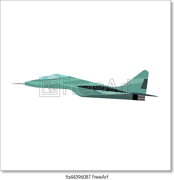 free art print of airplane vector illustration vector airplane