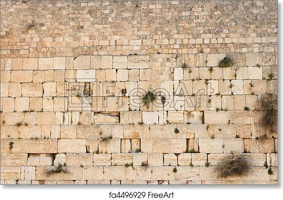 Wailing Wall Map