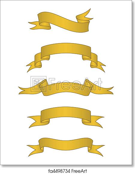 Free Art Print Of Vector Scroll Banner Set Set Of Detailed Gold Scroll Banners Easy To Edit Freeart Fa4498734 Here you can explore hq scroll banner transparent illustrations, icons and clipart with filter setting polish your personal project or design with these scroll banner transparent png images, make it. free art print of vector scroll banner set