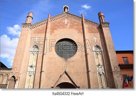 Free art print of Bologna, Italy. Chiesa di San Giacomo Maggiore ...