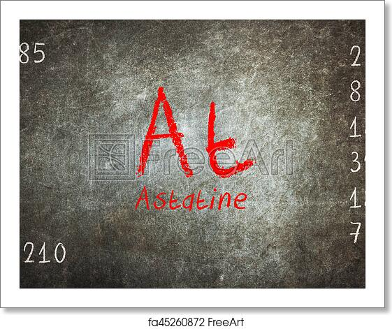 Free art print of isolated blackboard with periodic table astatine free art print of isolated blackboard with periodic table astatine urtaz Gallery
