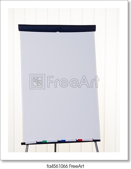 Free art print of Flip chart in a classroom