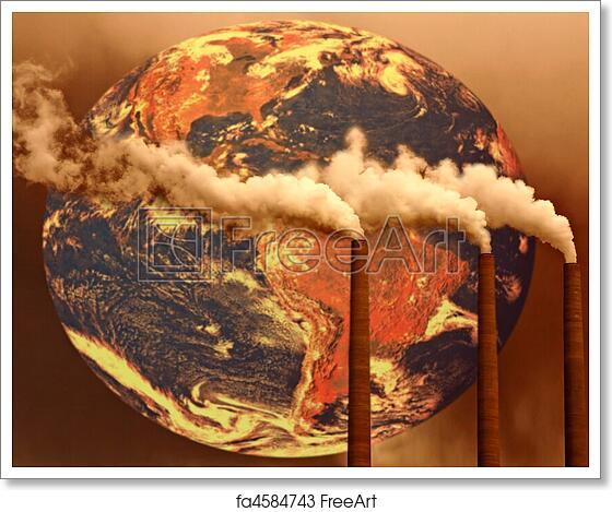 Free art print of Unfortunate Future of The World