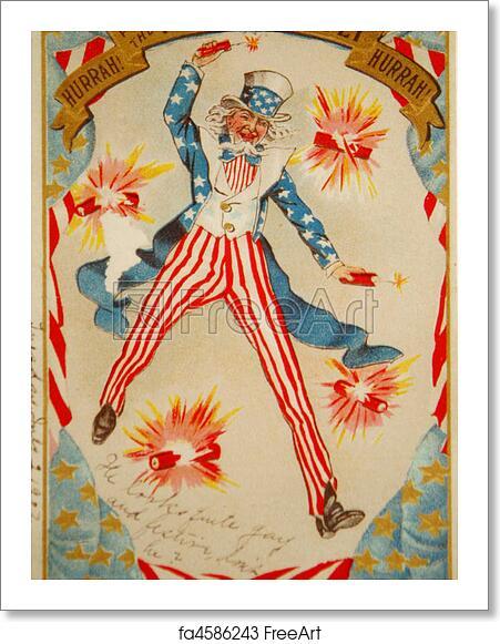 Free art print of Vintage Postcard Reproduction