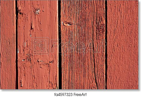 Red Barn Background free art print of vintage red barn board background. wheathered