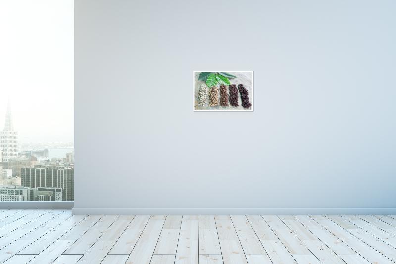 thumbnail 14 - Coffee Beans Art Print / Canvas Print. Poster, Wall Art, Home Decor - D