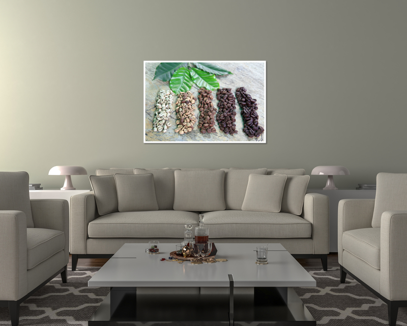 thumbnail 18 - Coffee Beans Art Print / Canvas Print. Poster, Wall Art, Home Decor - D