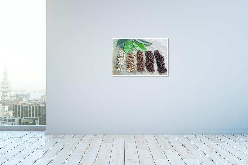 thumbnail 19 - Coffee Beans Art Print / Canvas Print. Poster, Wall Art, Home Decor - D