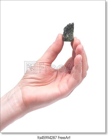 Free art print of Moldavite - form of tektite