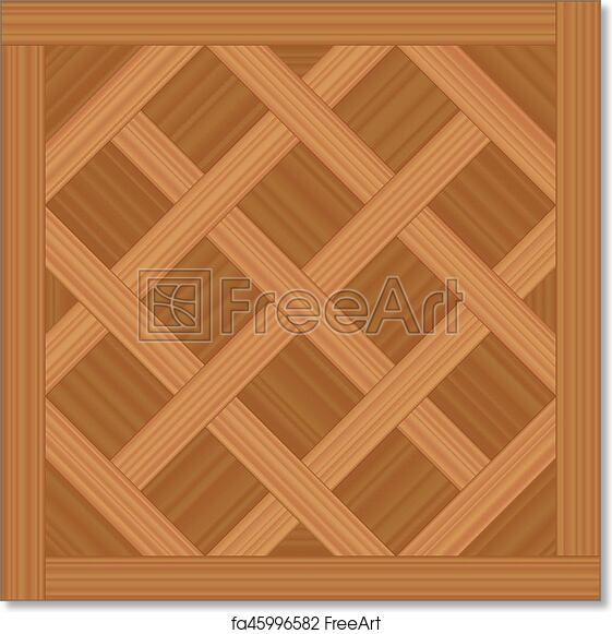 Free Art Print Of Versailles Parquet Wood Flooring Type