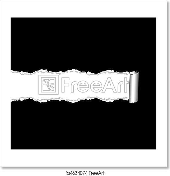 Free art print of Torn paper