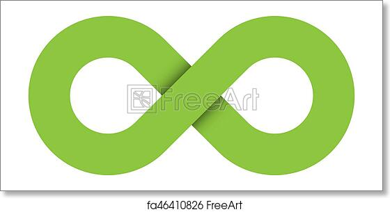 Free Art Print Of Infinity Symbol Icon Representing The Concept Of