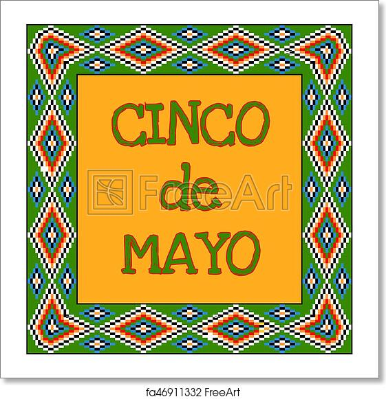 Free Art Print Of Cinco De Mayo