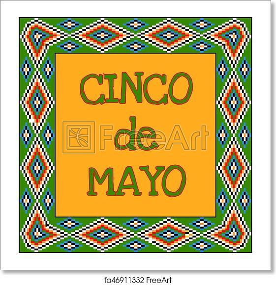 Free Art Print Of Cinco De Mayo