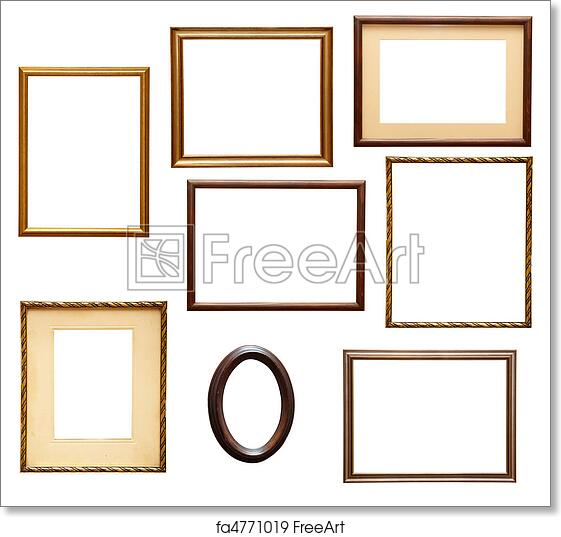 Free art print of Wooden frame grunge. Collection of various wooden ...