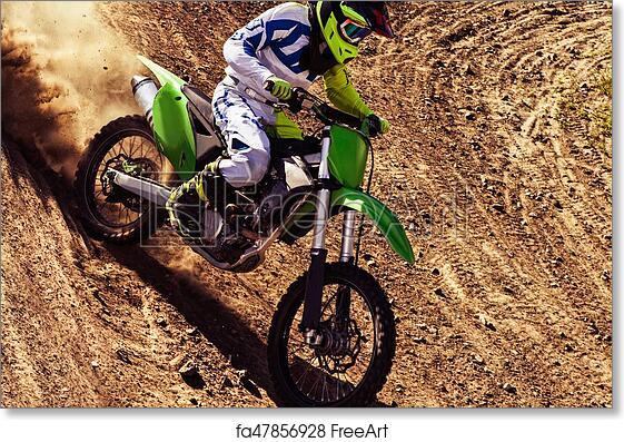 Free art print of Professional dirt bike rider