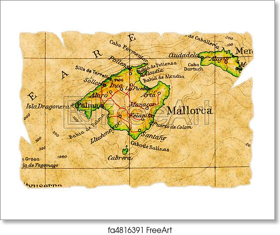 Free art print of Mallorca old map Mallorca Map on malta map, catalonia independence map, mediterranean sea map, barcelona map, canary islands map, palma map, world map, menorca map, lanzarote map, hong kong map, pyrenees mountains map, copenhagen map, naples map, majorca map, croatia map, ibiza map, malaga map, poland map, marseille map,