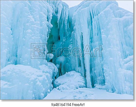 Free art print of Winter scenes near mackinac bridge and mackinsw city  michigan