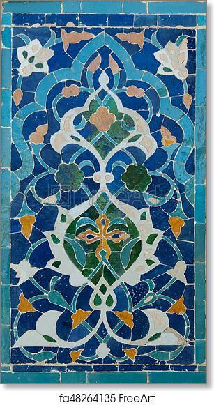 Free Art Print Of Asian Ceramic Patterns Asian Old Ceramic Mosaic Custom Asian Patterns