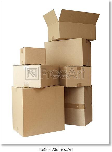 """60 CARDBOARD BOXES SINGLE WALL CARTONS PACKING STORAGE REMOVAL POST BOX 6/""""x6/""""x6/"""""""