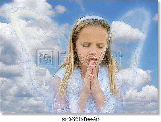 Free Art Print Of Angelic