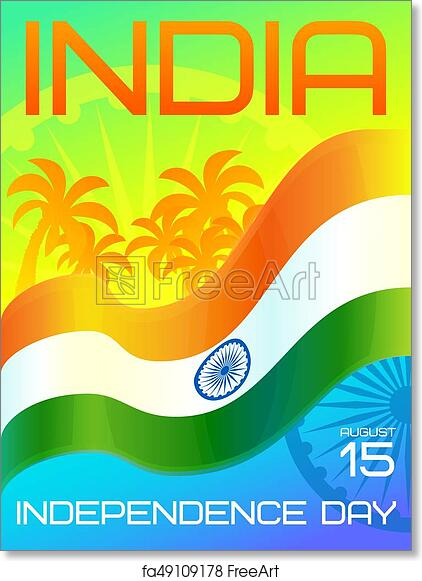 Free art print of India Independence Day