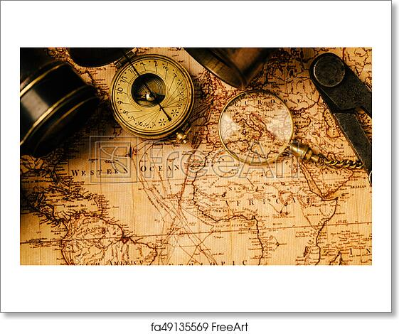 Free art print of travel geography navigation concept background free art print of travel geography navigation concept background gumiabroncs Images
