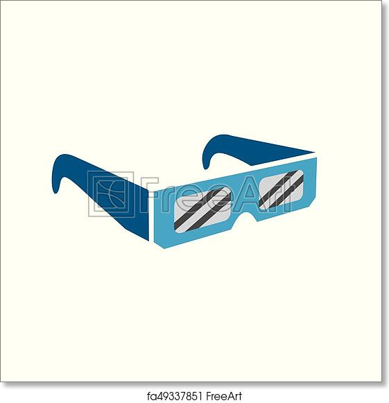 image relating to Printable Solar Eclipse Glasses identified as Cost-free artwork print of Eclipse gles - safely and securely going to the overall sunlight eclipse