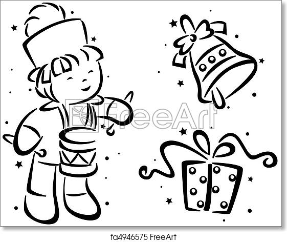 photograph relating to Free Printable Christmas Stencils named Absolutely free artwork print of Xmas Stencil