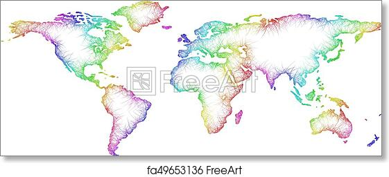 Free art print of Rainbow sketch world map design from multicolored Design World Map on online design, games design, match design, google design, world car design, france design, world globe design, world stage design, finland design, denmark design, contact design, characters design, world logo design, thailand design, usa design, links design, compass design, singapore design, l.a. design, world flag design,