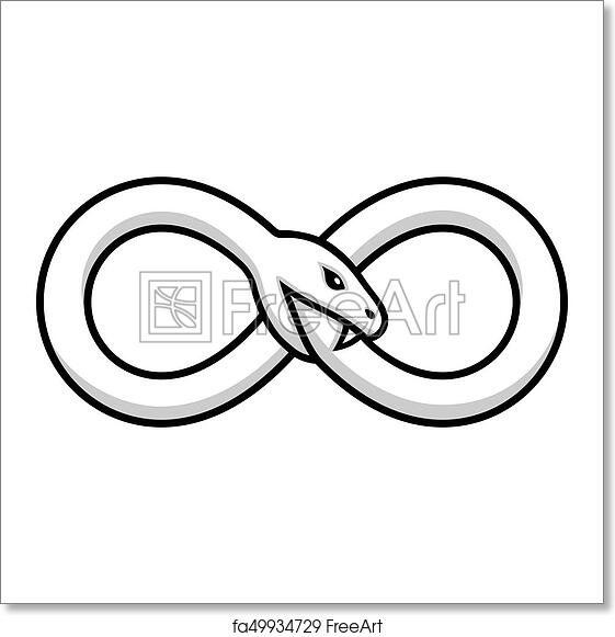 Free Art Print Of Ouroboros Snake Illustration Ouroboros Symbol