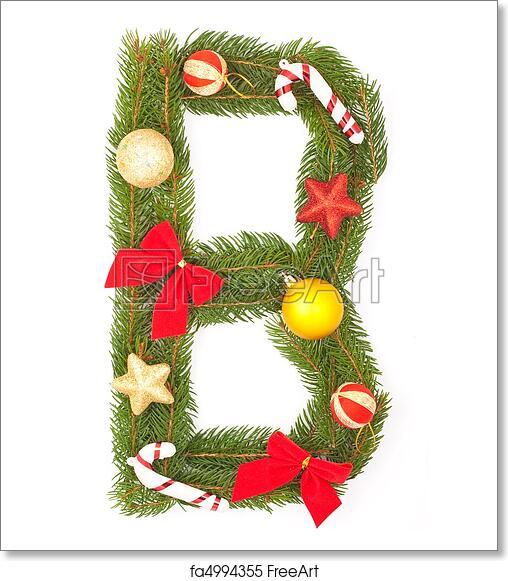Christmas Alphabet.Free Art Print Of Christmas Alphabet