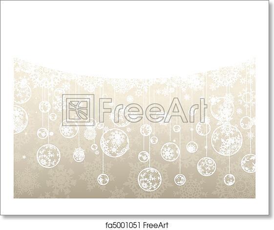 Elegant Christmas Background Images.Free Art Print Of Elegant Christmas Background Eps 8