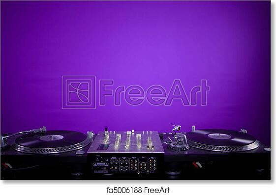 Free Art Print Of Dj Equipment
